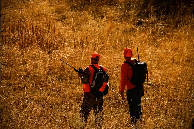 blaze orange hunting 2 ss