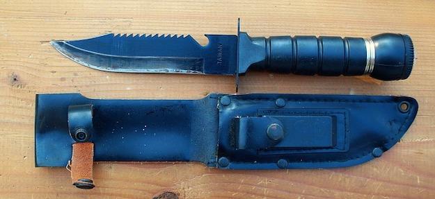 hunting knife 5 pb
